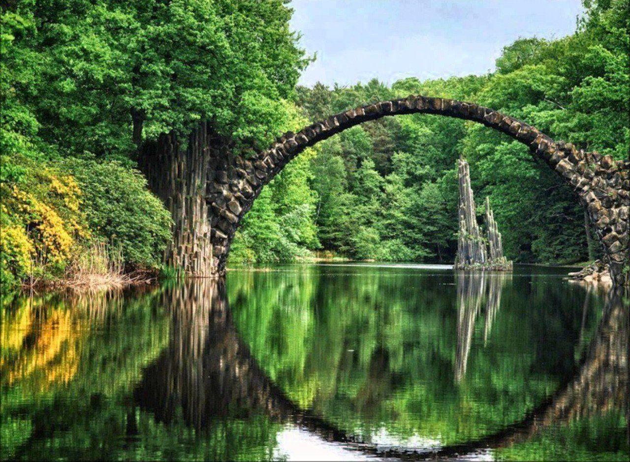 Самое красивое место в германии