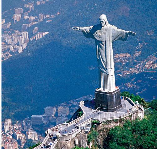 статуя христа рио де жанейро фото