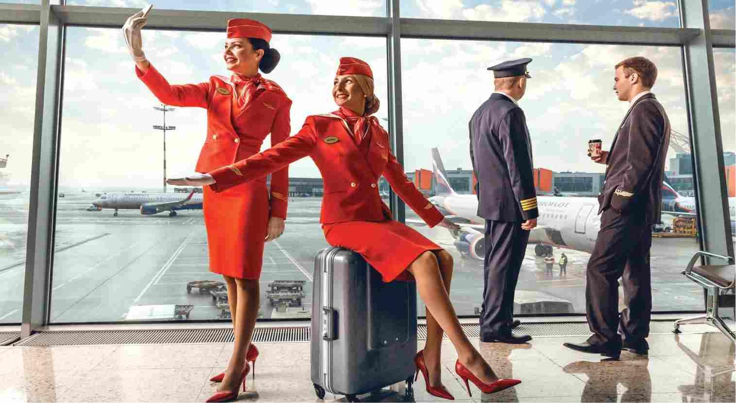 Фото стюардесс авиалинии франкфурта 6