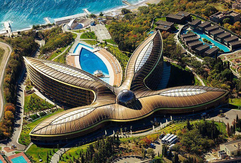 Крымский отель признан одним из наилучших вевропейских странах