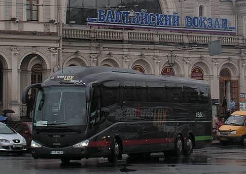 Lux экспресс возобновил транспортировку пассажиров вХельсинки