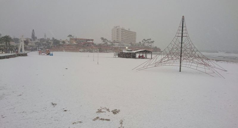 ВИспании объявлено чрезвычайное положение из-за страшных снегопадов