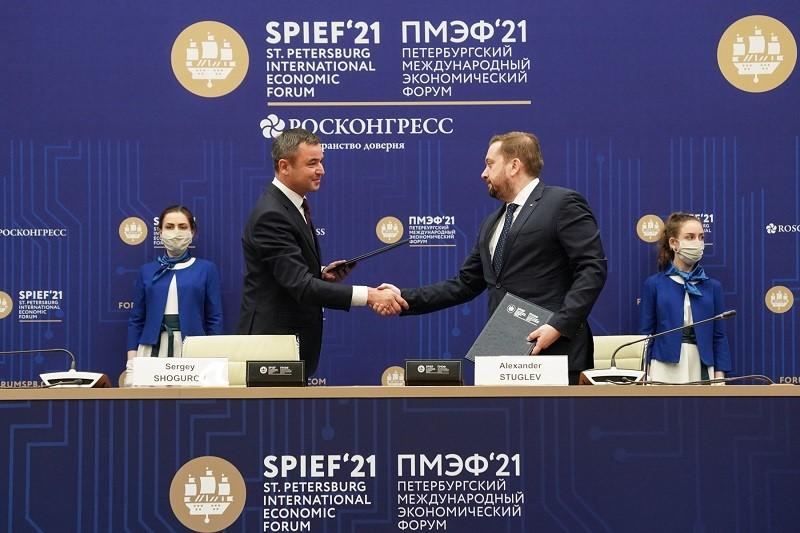 Фонд Росконгресс и АО «ВДНХ» подписали соглашение о сотрудничестве на полях ПМЭФ-2021