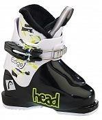 Горнолыжные ботинки HEAD 2015-16 EDGE J 1/BLACK-WHITE BLACK-WHITE