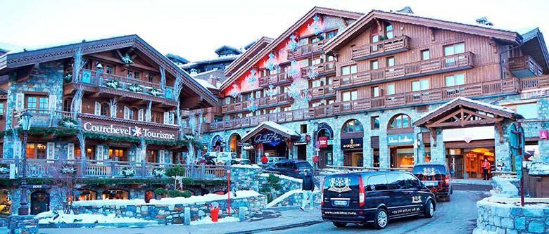 Легендарный горнолыжный курорт Куршевель