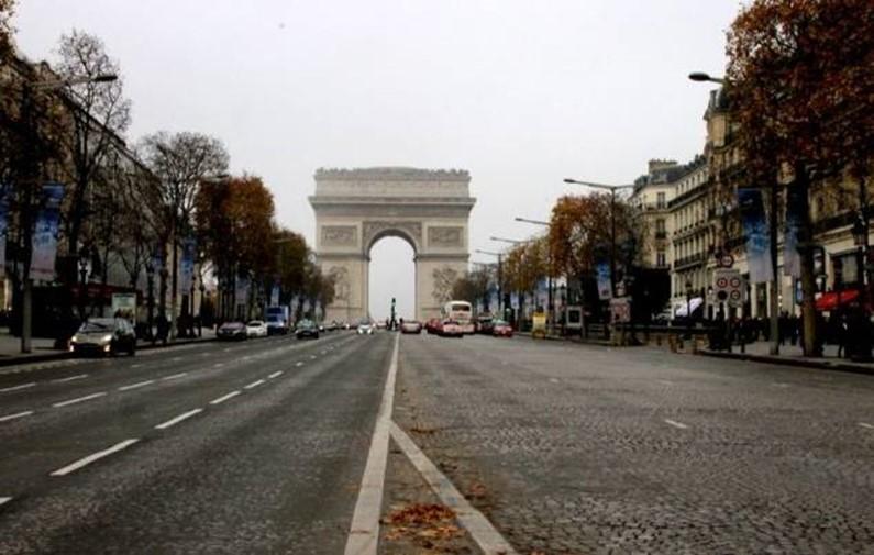 Погода во Франции в феврале 2017-го года