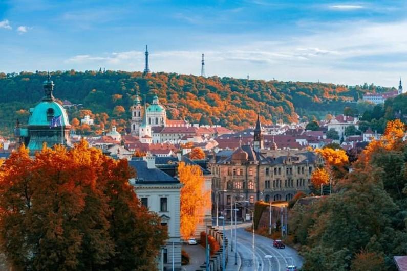 Погода в Чехии в октябре 2017-го года