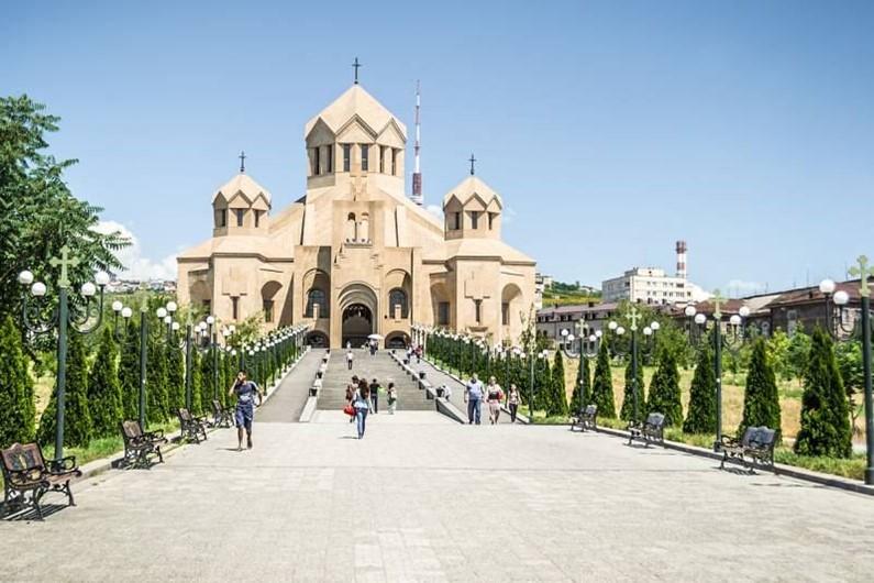 Ереван. Церкви и мемориалы столицы Армении. Видео