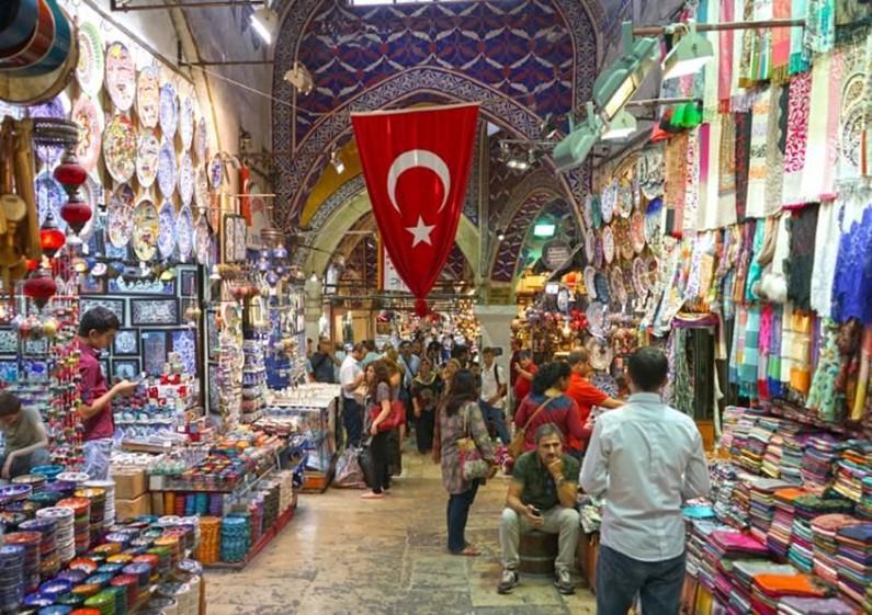 Магазины и рынки Стамбула. Видео