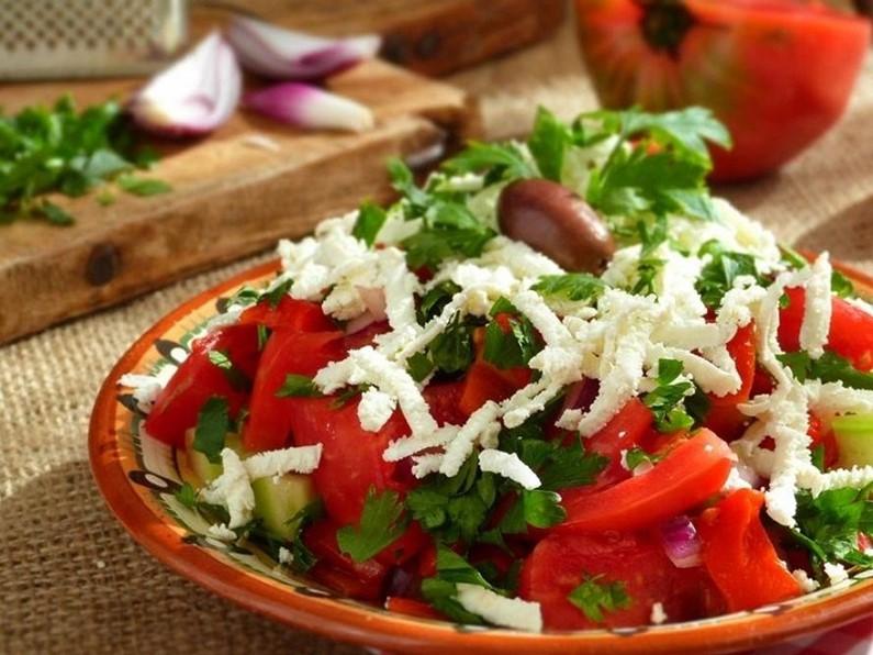 Шопский салат от Николы Радишича