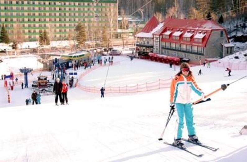 Закрываем горнолыжный сезон в России. Курорт «Благодать». Видео