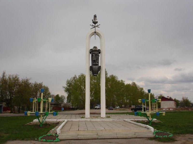 Эконом памятник Купола Спас-Клепики Эконом памятник Башня с профильной резкой Калач