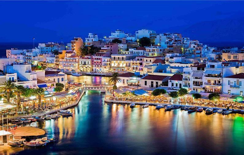 фото острова крит греция