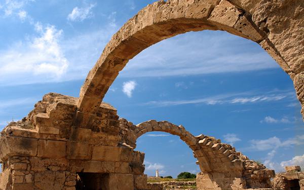 Достопримечательности города пафос