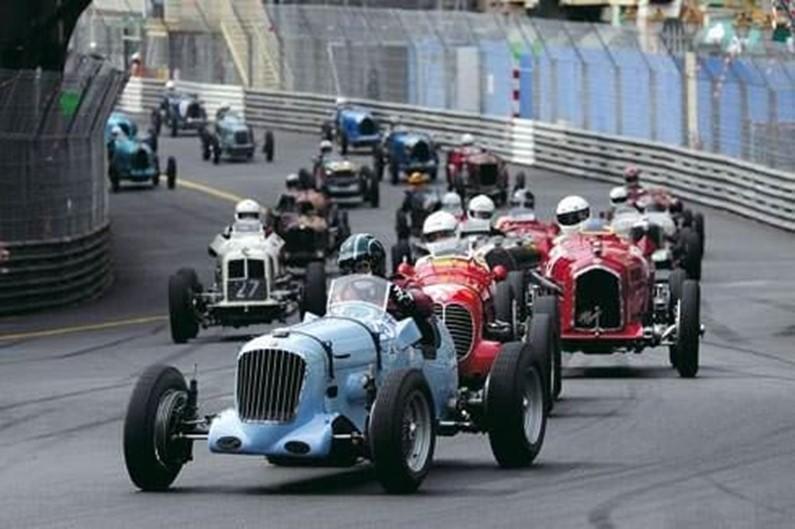 Ралли The Grand Prix de Monaco Historique собирает участников и ...
