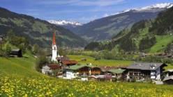Погода в Австрии в июле 2017-го года