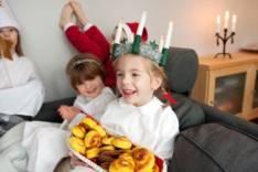 Рождественские рецепты из Швеции. Шафрановые булочки