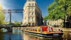 Сколько стоит прокатиться по каналам Амстердама? ...