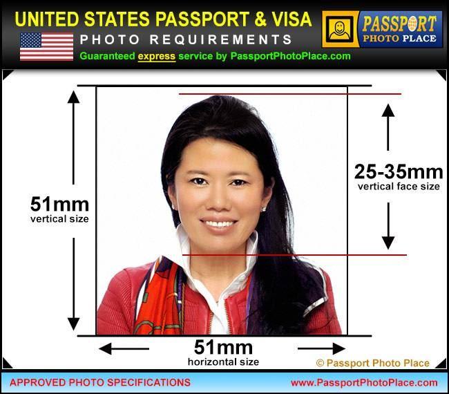 Виза америка фото требования далеко каждая
