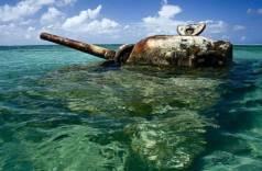 ВАнталье утопили вморе танк, чтобы привлечь дайверов