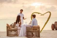 Мальдивы – это рай для влюбленных