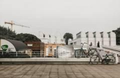 Берлинские полицейские пересаживаются на велосипеды