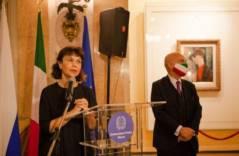В Посольстве Италии состоялся показ картины Амедео Модильяни