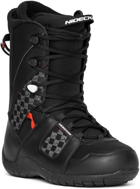 c19a1ea7aaad Ботинки для сноуборда, Nidecker, CHARGER black-white-red (BO110107 ...