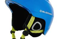 Demon Ski Helmet Junior, Neon Blue
