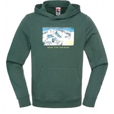 Mountain Postcard Pullover Hoodie