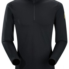 Phase Ar Zip Neck Ls Mens