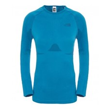 The North Face Hybrid Long Sleeve Crew Neck женская