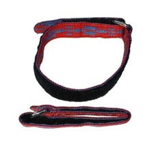 Guides Ski Strap Embroidered Webbing Ski Strap 20'' Set of 2 красный
