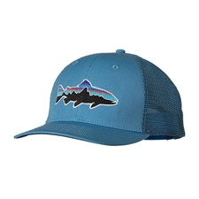 Patagonia Fitz Roy Trout Trucker Hat синий