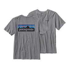 Patagonia P-6 Logo Cotton T-Shirt
