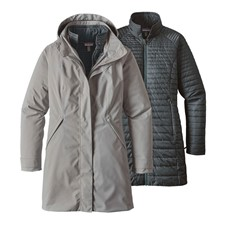 Patagonia Vosque 3-in-1 Parka женская