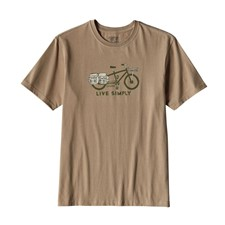 Patagonia Live Simply Cargo Bike Cotton T-Shirt