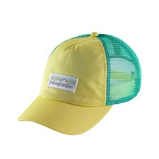 Patagonia Pastel P-6 Label Layback Trucker Hat женская желтый ALL