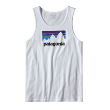 Patagonia Shop Sticker Cotton Tank