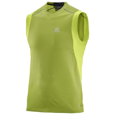 Salomon Trail Rynner Sleeveless Tee M - Увеличить