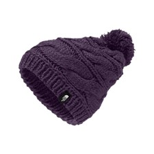 The North Face Triple Cable Pom Beanie фиолетовый OS