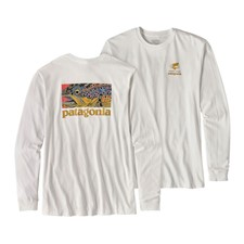 Patagonia L/S Eye Of Brown World Trout Cotton T-Shirt