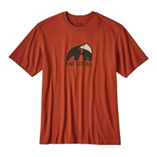 Patagonia Eat Local Upstream Cotton T-Shirt