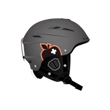 Movement Big A Helmet серый 60/62