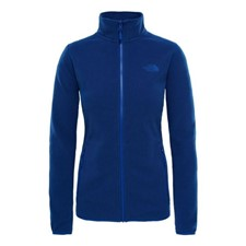The North Face 100 Glacier Full Zip женская синий L