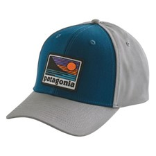 Patagonia UP & Out Roger That Hat синий ONE*