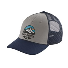 Patagonia Fitz Roy Scope Lopro Trucker Hat серый ONE