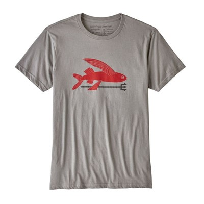 Patagonia Flying Fish Organic T-Shirt - Увеличить