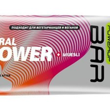 Powerup Bar Muesli зеленый 50г
