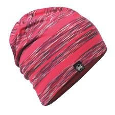 Buff Cotton Hat Wild Pink Stripes темно-розовый ONE